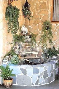 Водопад в зимнем саду - Студия ландшафтного дизайна