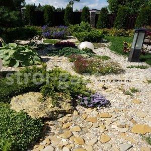 """Рокарий в саду - Студия ландшафтного дизайна """"Строй-Газон"""""""