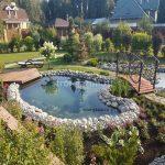 Устройство прудов и водопадов - Студия ландшафтного дизайна