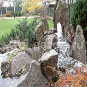 """Рокарий из скальных камней - Студия ландшафтного дизайна """"Строй-Газон"""""""