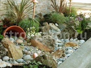 """Каменистый садик - Студия ландшафтного дизайна """"Строй-Газон"""""""