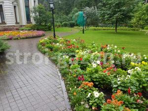 Цветник - Ландшафтный дизайн загородного дома