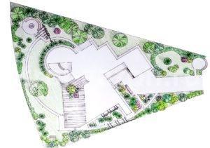 Дизайн участка - Ландшафтный дизайн загородного дома