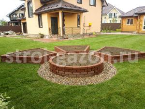Высокие грядки - Ландшафтный дизайн загородного дома