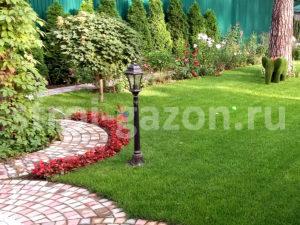 Освещение участка - Ландшафтный дизайн загородного дома