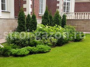 Озеленение участка - Ландшафтный дизайн загородного дома