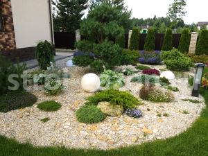 Рокарий - Ландшафтный дизайн загородного дома