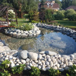 Декоративный пруд на даче - Студия ландшафтного дизайна Строй-Газон